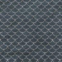 Au fil des Couleurs Fish Scales Tapet