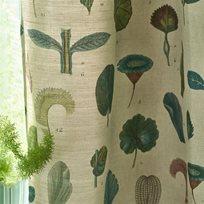 John Derian A Leaf Study Linen Tyg