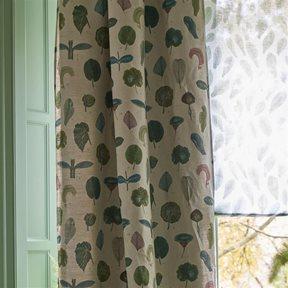 John Derian A Leaf Study Linen