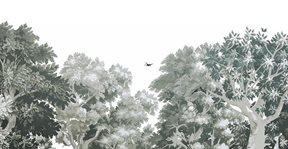 Au fil des Couleurs Dream Forest, Green