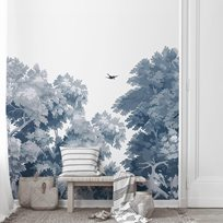 Au fil des Couleurs Dream Forest, Blue Tapet