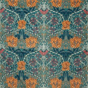 William Morris & co Honeysuckle & Tulip Velvet