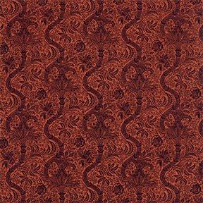 William Morris & co Indian Flock Velvet Tyg