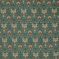 William Morris & co Snakeshead Velvet Tyg