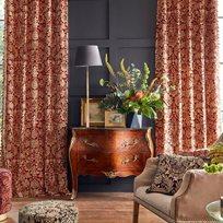 William Morris & co Sunflower Velvet Tyg