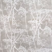 Cole & Son Cow Parsley, White & Taupe Tyg