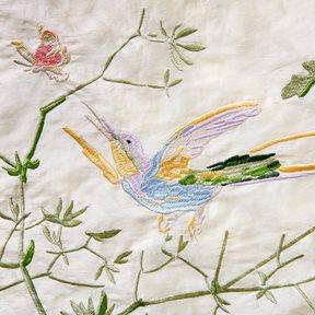 Cole & Son Hummingbirds, Bright Multi Tyg