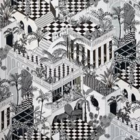 Cole & Son Miami, Black & White