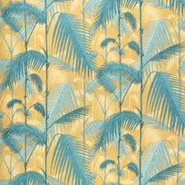 Cole & Son Palm Jungle, Ochre & Petrol