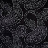 Cole & Son Rajapur, Charcoal on Black Tyg