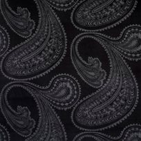 Cole & Son Rajapur, Charcoal on Black