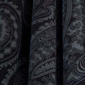 Cole & Son Rajapur, Charcoal on Black