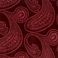Cole & Son Rajapur, Rose on Dark Crimson
