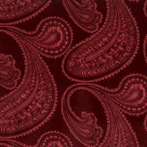 Cole & Son Rajapur, Rose on Dark Crimson