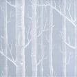 Cole & Son Woods, White on Soft Grey
