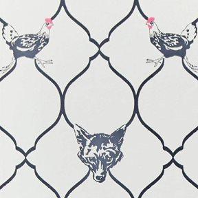 Barneby Gates Fox & Hen Tapet