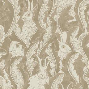 Långelid / von Brömssen Hares in hiding, beige
