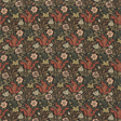 William Morris & co Compton Terracotta / Multi Tyg