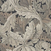 William Morris & co Acanthus Charcoal/Grey Tapet
