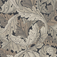 William Morris & co Acanthus Charcoal/Grey