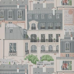 Manuel Canovas Les Toits de Paris Tapet