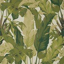 Thibaut Travelers Palm Sage Tapet