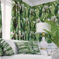 Thibaut Travelers Palm Green Tapet