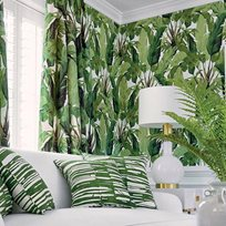Thibaut Travelers Palm Green