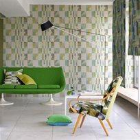 Designers Guild Parterre Emerald Tapet