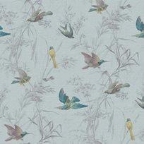 Carma Birds of Paradise, Turquoise Tapet