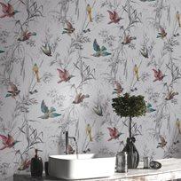 Carma Birds of Paradise, Sterling Tapet