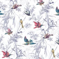 Carma Birds of Paradise, Mixed Berry Tapet