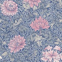 Carma Morrissey Flower, Mixed Berry Tapet