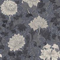 Carma Morrissey Flower, Pewter Tapet