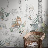 Boråstapeter Magic Forest Mural Tapet