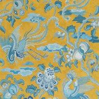 Baker Chifu, Ochre/Blue Tapet
