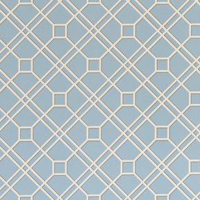 Baker Langdale Trellis, Soft Blue