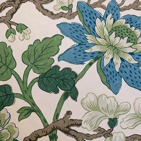 Baker Magnolia, Emerald/Teal