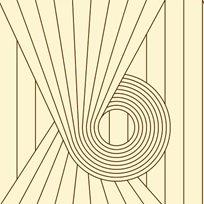 Erica Wakerly Spiral Tapet