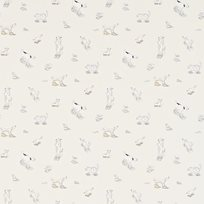 Sanderson Dogs in clogs Tapet