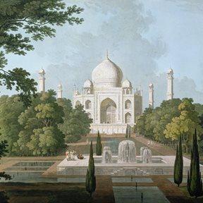 Au fil des Couleurs Taj Mahal