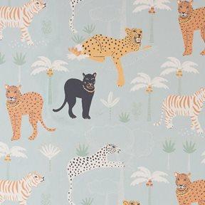 Majvillan Black panther Twilight blue Tapet