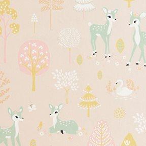 Majvillan Golden woods Sweet pink Tapet