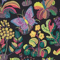 Josef Frank Exotic Butterfly, Black