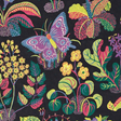 Josef Frank Exotic Butterfly, Black