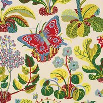 Josef Frank Exotic Butterfly, Multi