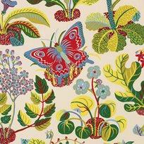 Josef Frank Exotic Butterfly, Multi