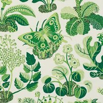 Josef Frank Exotic Butterfly, Leaf Tyg