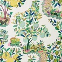 Josef Frank Citrus Garden, Lime Tyg