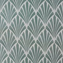 Helene Blanche Deco fan Smokey Green